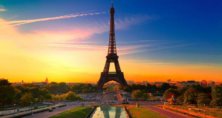 sunset-eiffel-tower-paris-france
